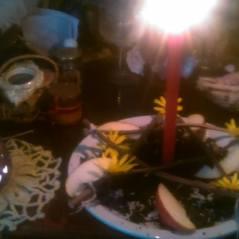 ritual Wicca tierra